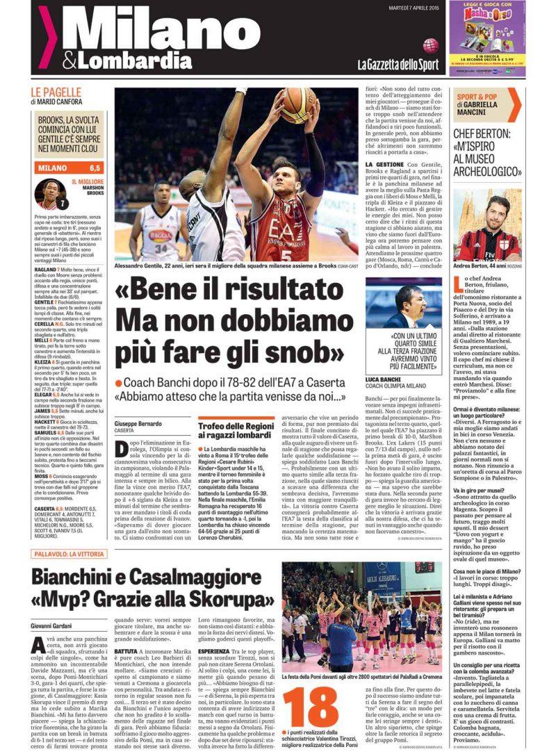 La Gazzetta dello Sport