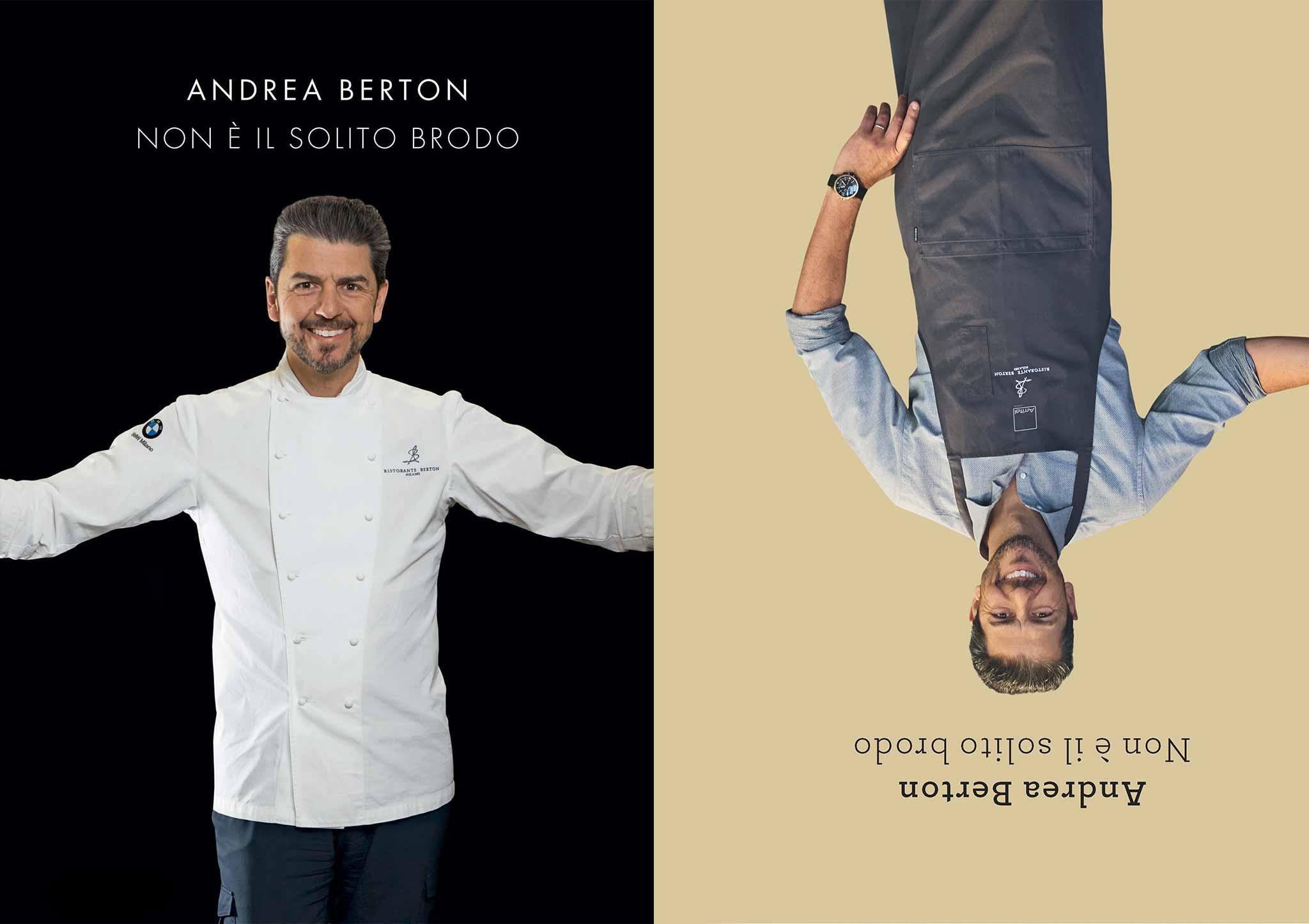 Libro - Non è il solito brodo - Andrea Berton